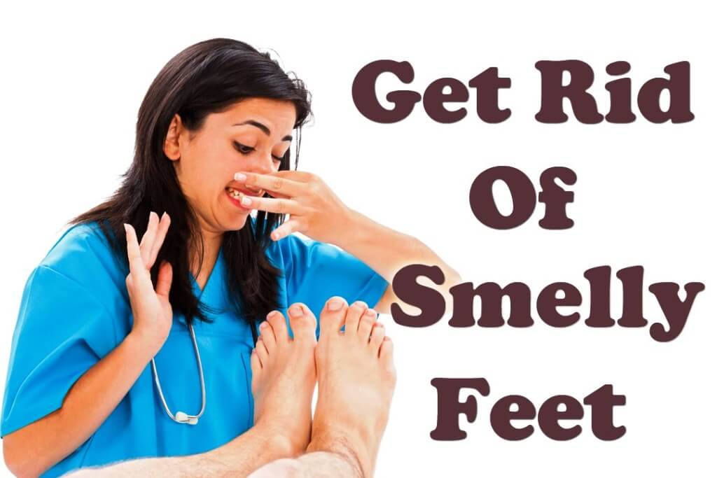 get rip of smelly feet