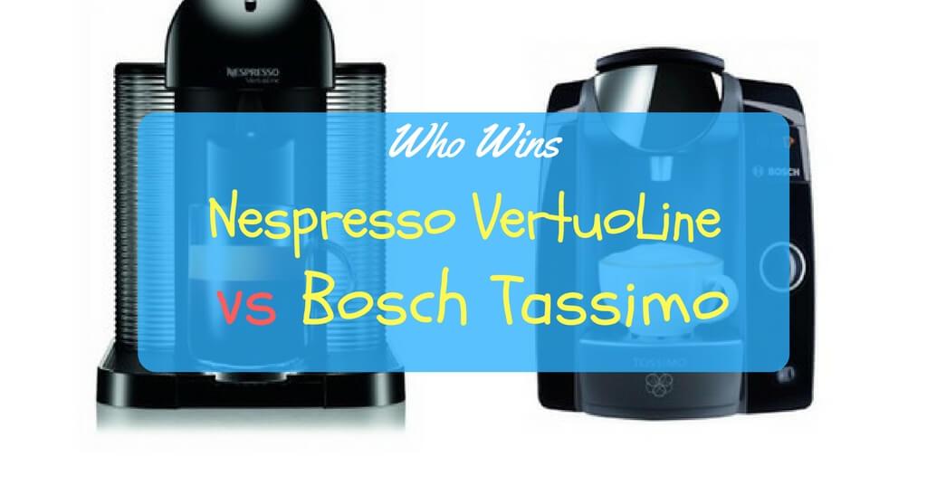 Battle of the Brands: The Nespresso VertuoLine vs Bosch Tassimo