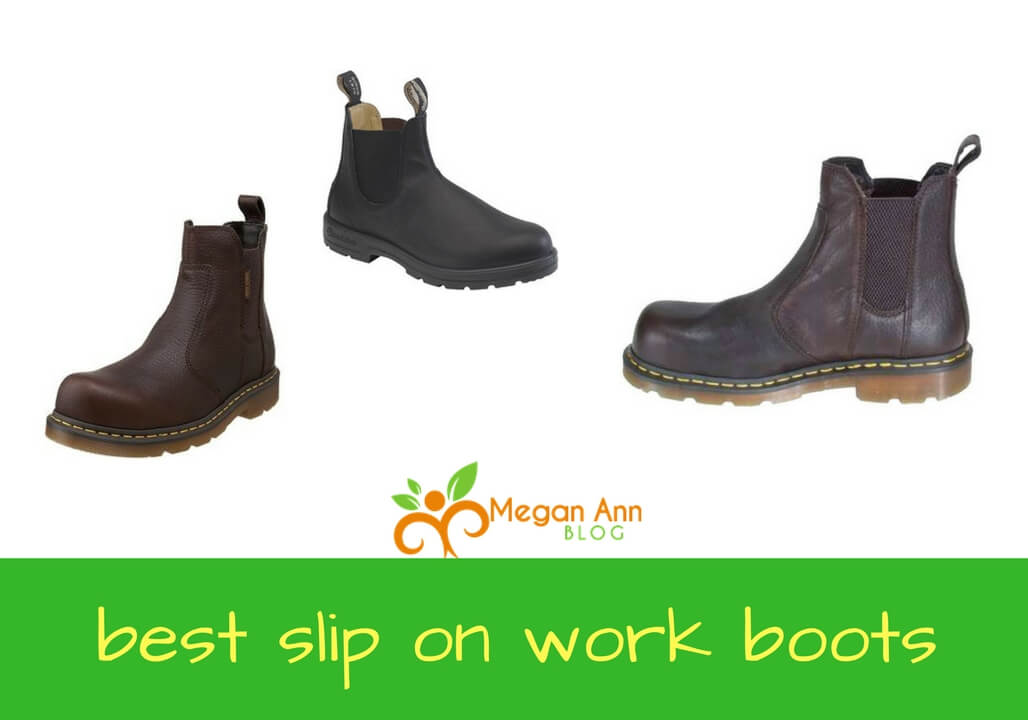best slip on work boots