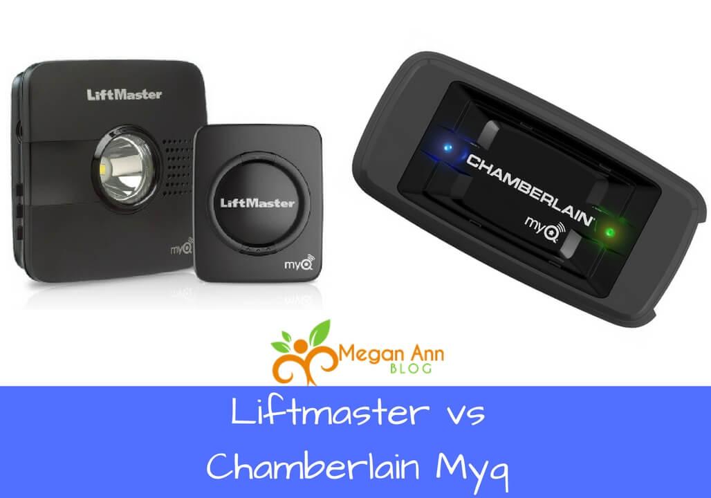 Liftmaster vs Chamberlain Myq new