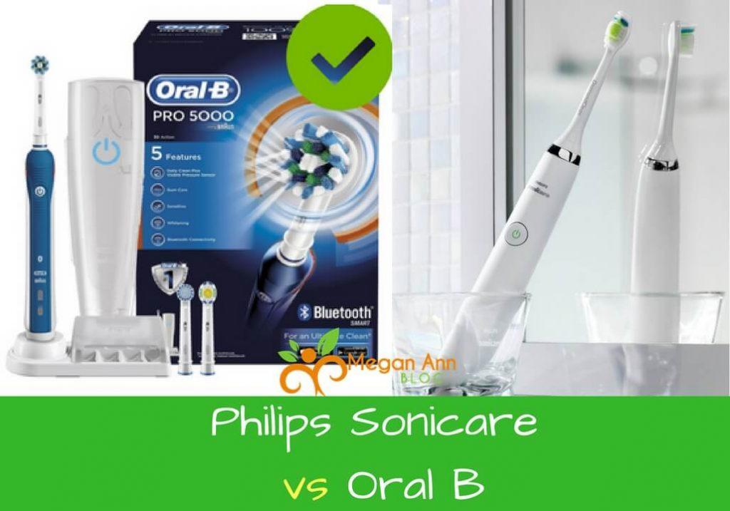 Philips Sonicare vs Oral B