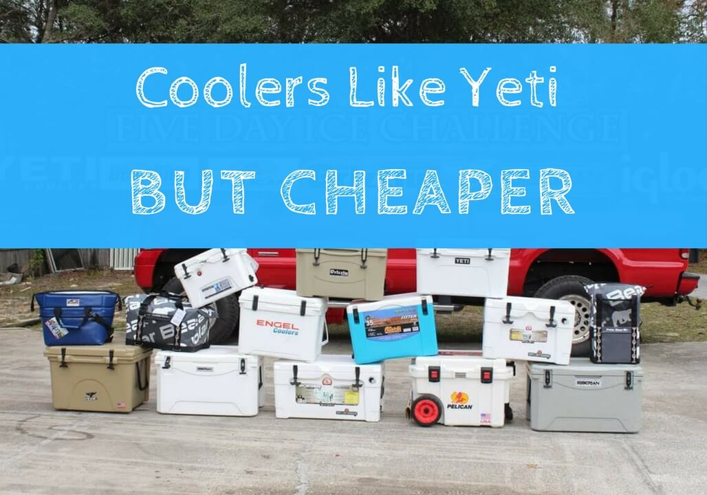 Coolers Like Yeti but cheaper coolers similar to yeti