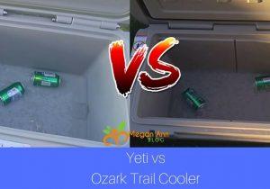 Yeti vs Ozark Trail Cooler