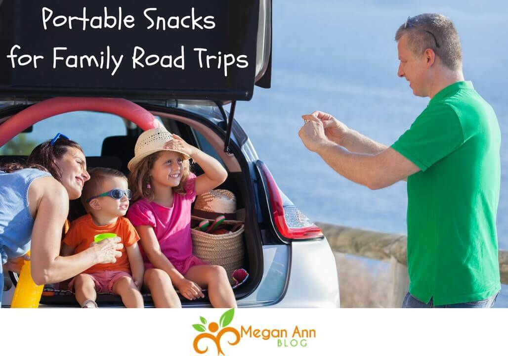 12 Portable Snacks for Family Road Trips