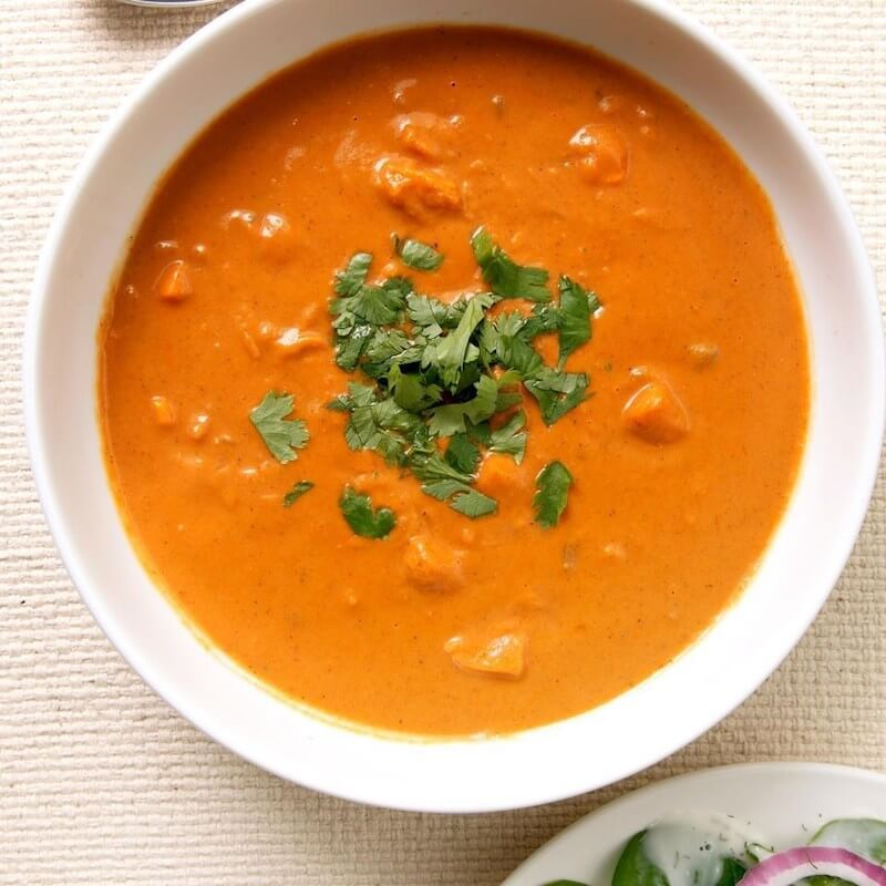 16 Sweet Potato Bisque