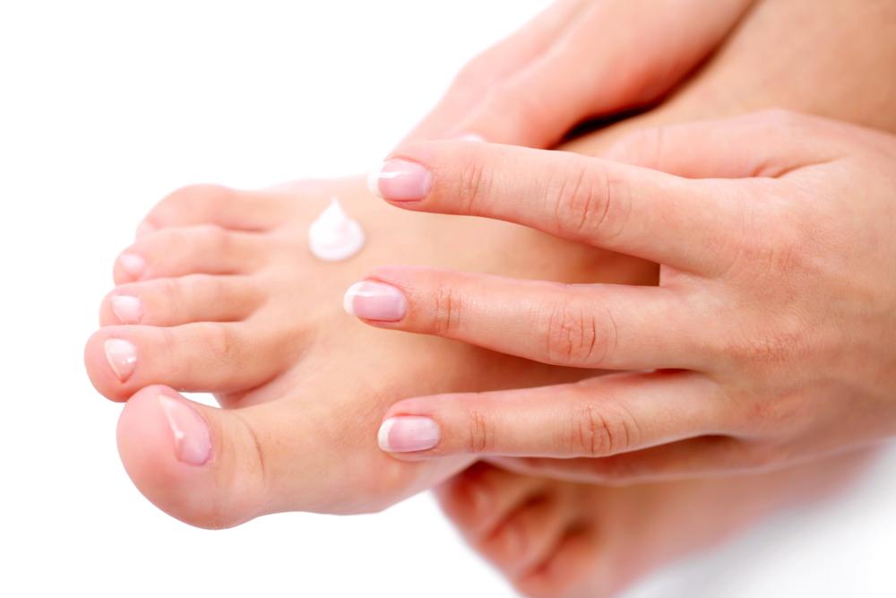 a foot apply cream