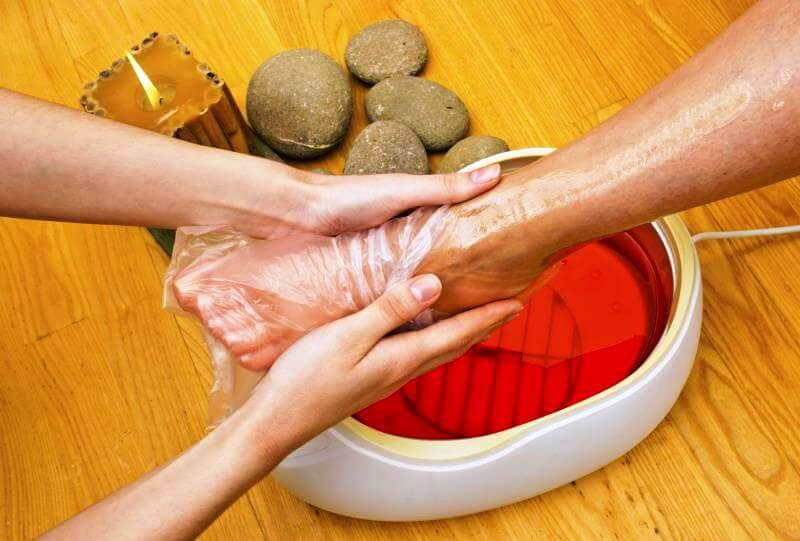Paraffin Pedicure