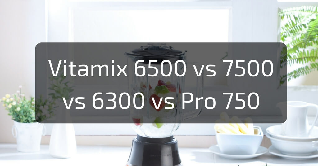 Vitamix 6500 vs Vitamix 7500 vs Vitamix 6300 vs Vitamix Pro 750