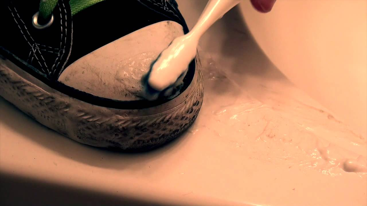 Handwashing your shoes effectively