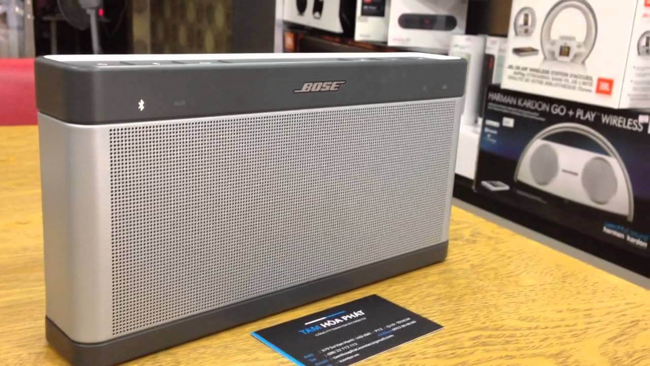 Bose Soundlink III Review