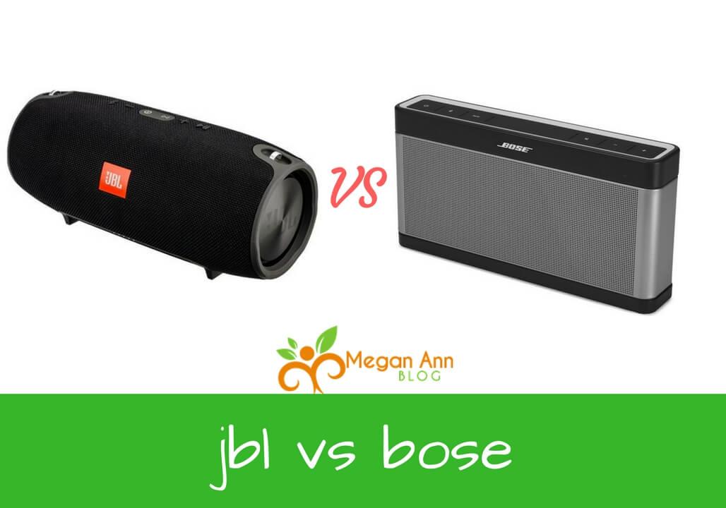 jbl vs bose jbl xtreme vs bose soundlink 3