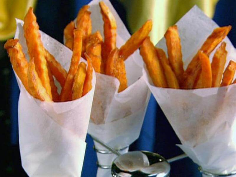 10 Sweet Potato Baked Fries