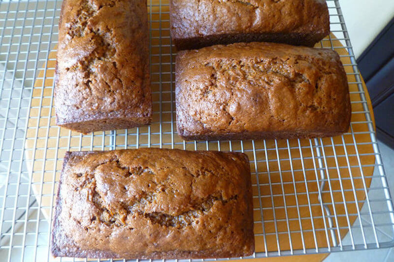 3 Cinnamon Spice Sweet Potato Bread