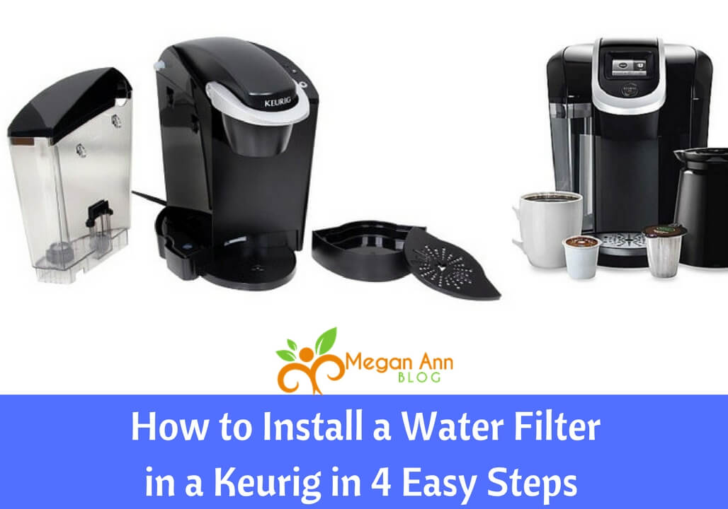How to Install a Water Filter in a Keurig in 4 Easy Steps
