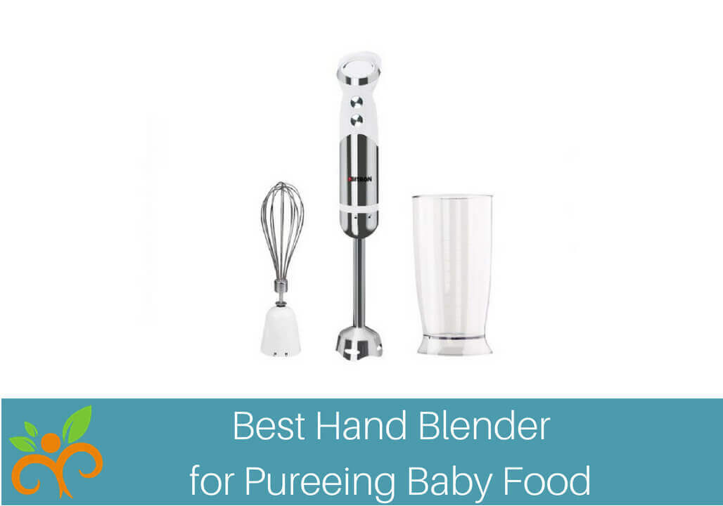 Megan Ann Best Hand Blender for Pureeing Baby Food