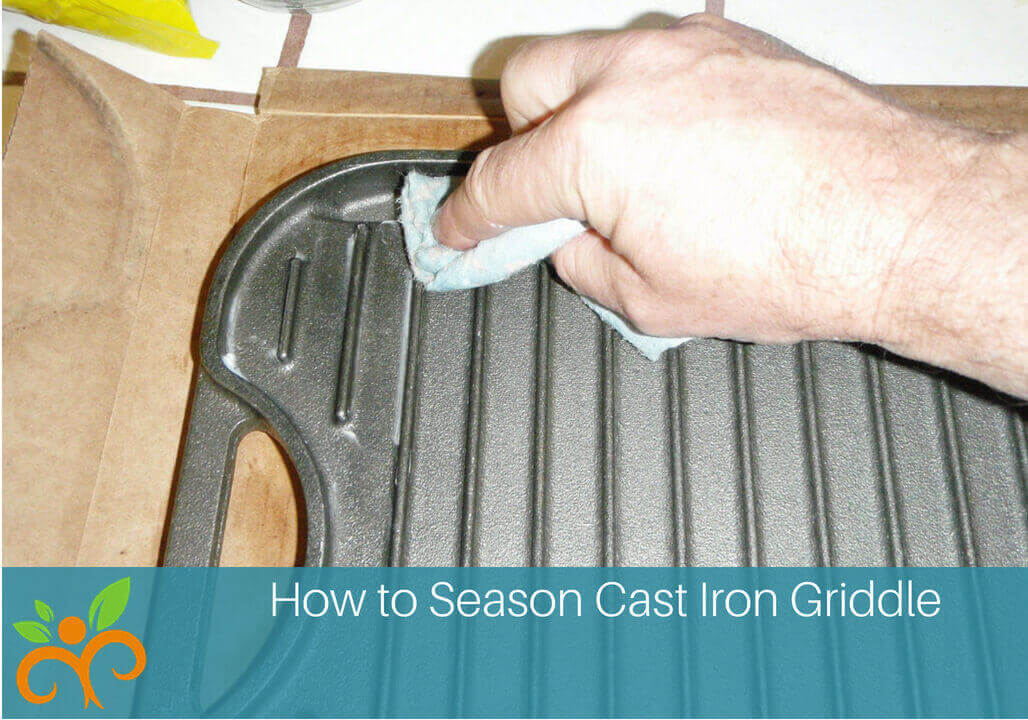 Megan Ann How to Season Cast Iron Griddle